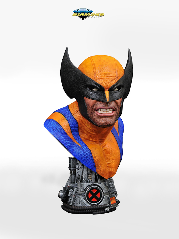 Diamond Select Legends in 3D Marvel Comics Wolverine 1:2 Bust