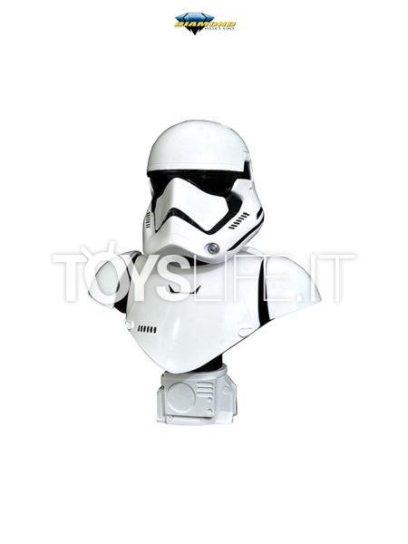 Diamond Select Legends In 3D Star Wars Episode 7 Stormtrooper First Order 1:2 Bust