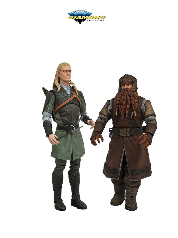 Diamond Select The Lord Of The Rings Legolas/Gimli Figure