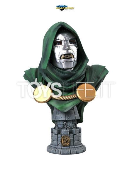 Diamond Select Legends In 3D Marvel Comics Doctor Doom 1:2 Bust