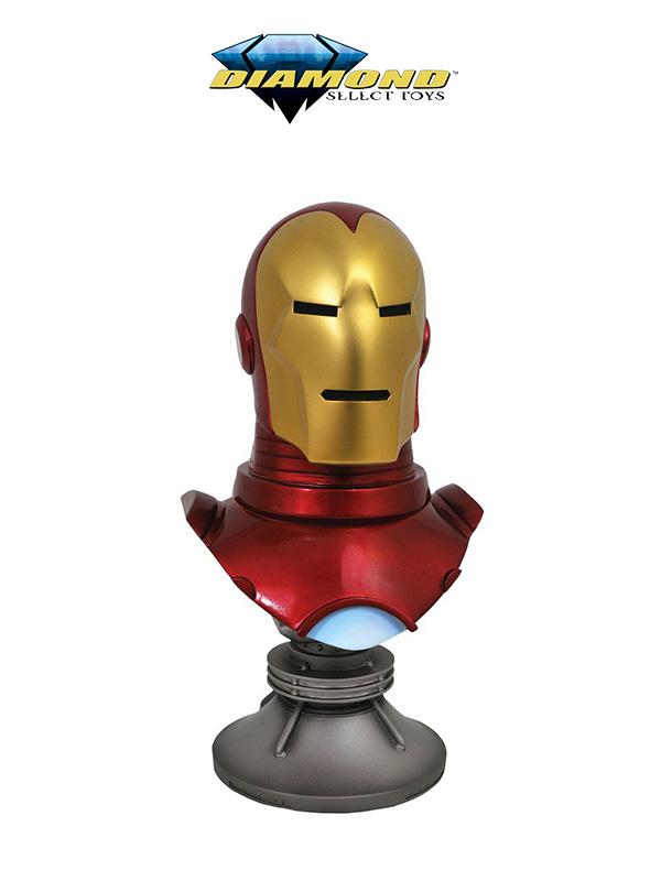 Diamond Select Marvel Comics Ironman Classic 1:2 Bust