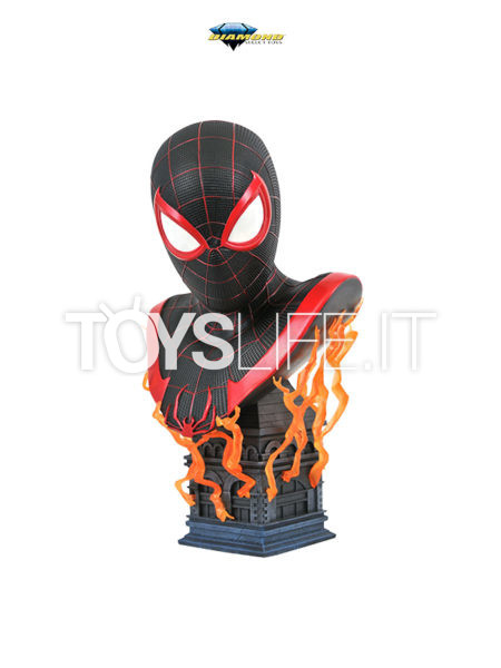 Diamond Select Legends In 3D Marvel Comics Spiderman Miles Morales 1:2 Bust
