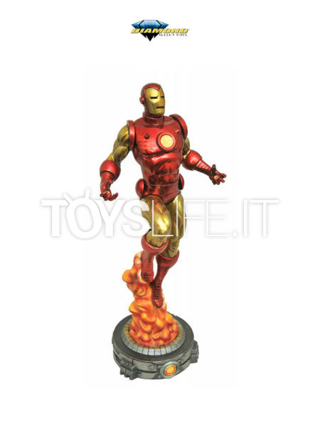 Diamond Direct Marvel Gallery Ironman Classic Pvc Diorama