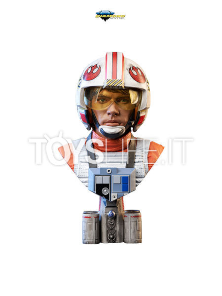Diamond Select Legends In 3D Star Wars A New Hope Luke Skywalker X-Wing Pilot 1:2 Bust