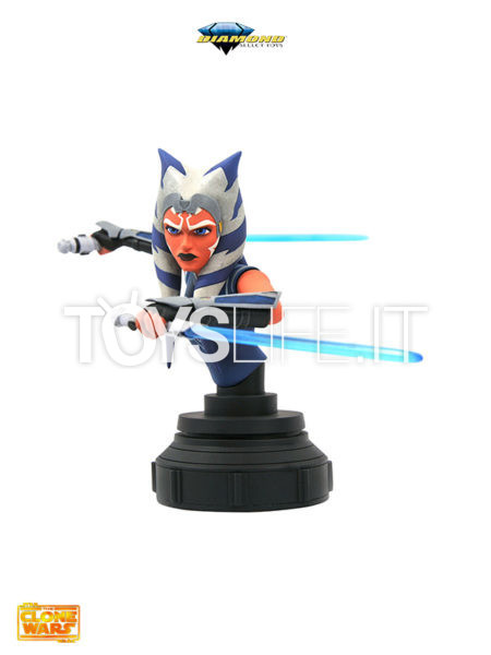 Diamond Select Star Wars The Clone Wars Ahsoka Tano 1:7 Bust