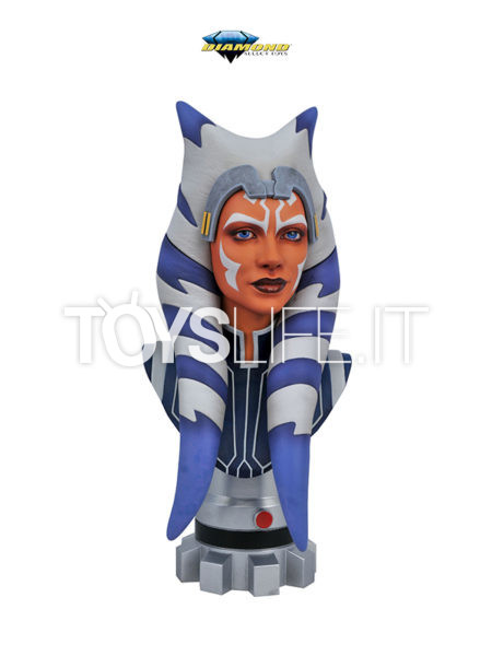 Diamond Select Legends In 3D Star Wars Star Wars The Clone Wars Ahsoka Tano 1:2 Bust