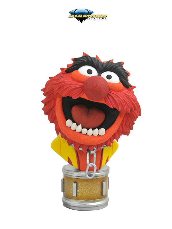 Diamond Select Legendary The Muppets Animal Bust