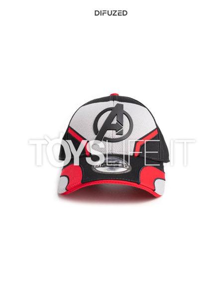 Difuzed Marvel Avengers Endgame Quantum Logo Cap Cappello