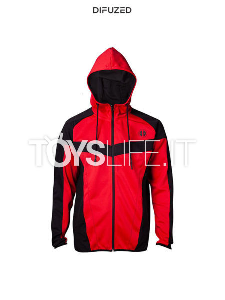 Difuzed Marvel Deadpool Hooded Sweater Classic Style