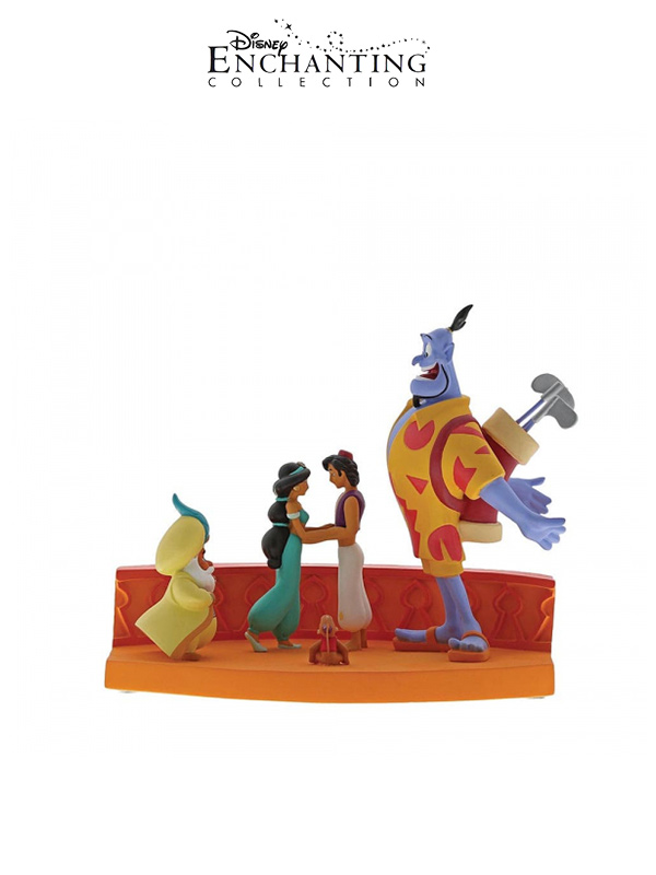 Disney Enchanting Collection Aladdin Scene