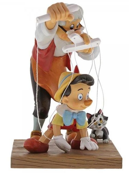 Disney Enchanting Collection Pinocchio Statue