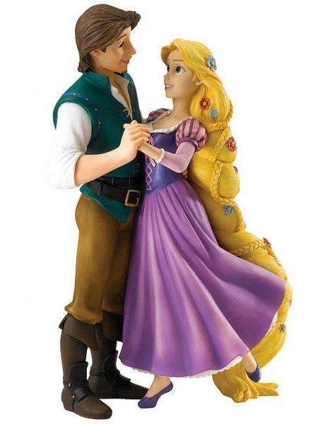 Disney Enchanting Collection Rapunzel & Flynn