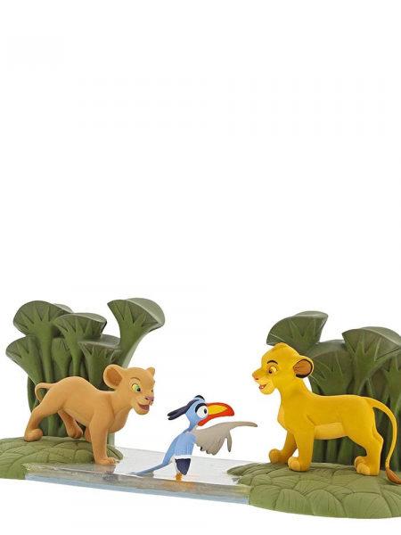 Disney Enchanting Collection The Lion King Simba Nala And Zazu