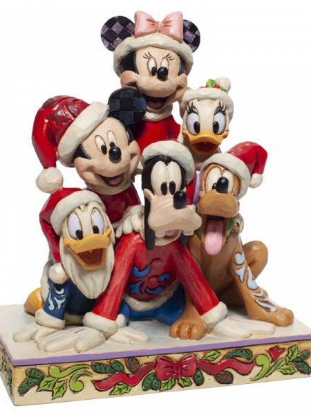Jim Shore Disney Traditions Christmas Mickey And Friends