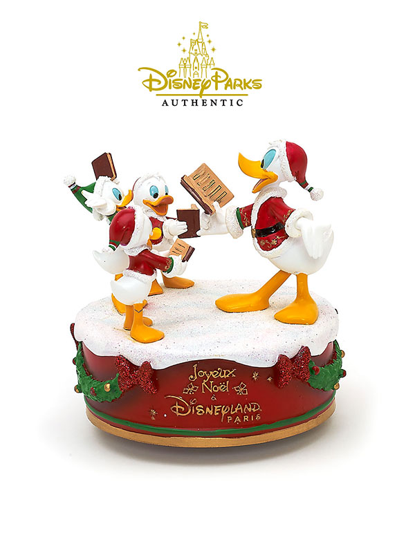 Disneyparks Authentic Donald & Nephews Christmas Carillon