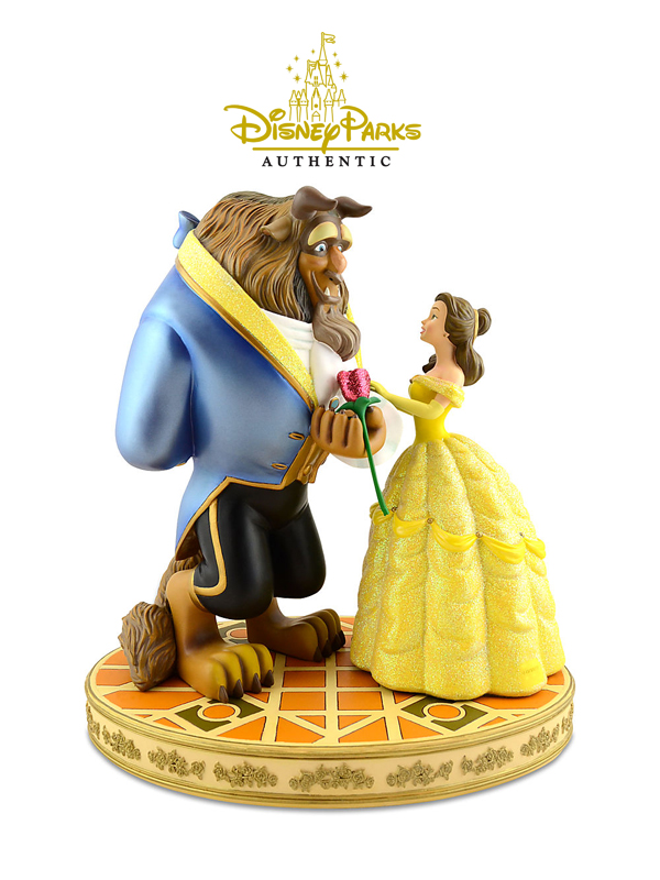 Disneyparks Authentic The Beauty and The Beast Figure