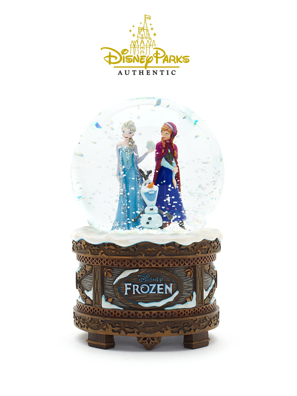 Disneyparks Authentic Frozen Anna & Elsa Snowglobe