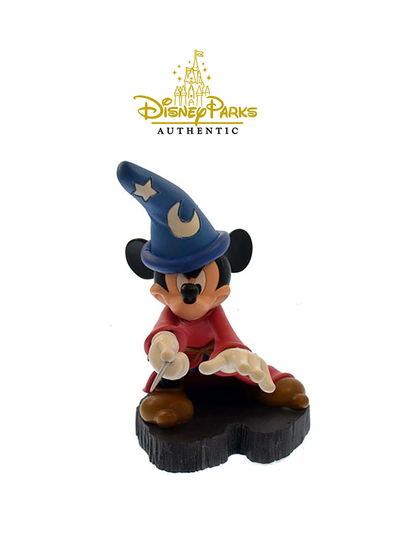 Disneyparks Authentic Mickey Sorcerer Light-Up Figure