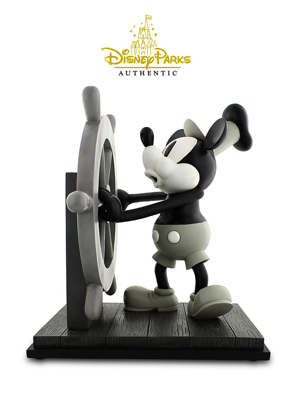 Disneyparks Authentic Steamboat Willie Figure