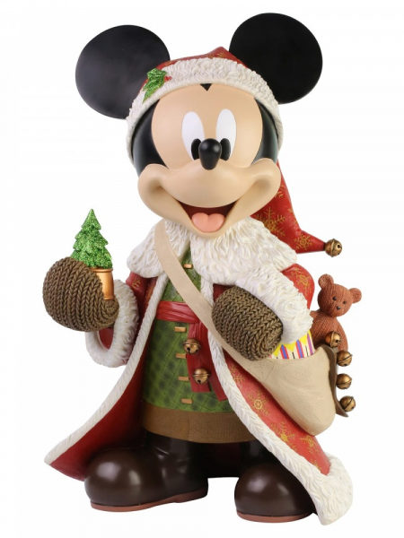Disney Showcase Christmas Mickey Statement Big Statue 46 CM