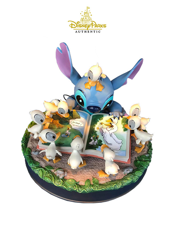 Disneyparks Authentic Lilo & Stitch Stitch And Duckslings Figure