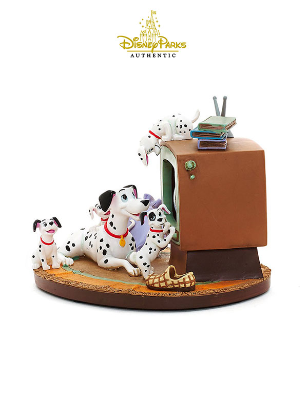 Disneyparks Authentic 101 Dalmatians Snowglobe