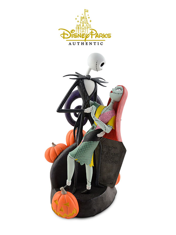 Disneyparks Authentic Nightmare Before Christmas Jack & Sally Figure