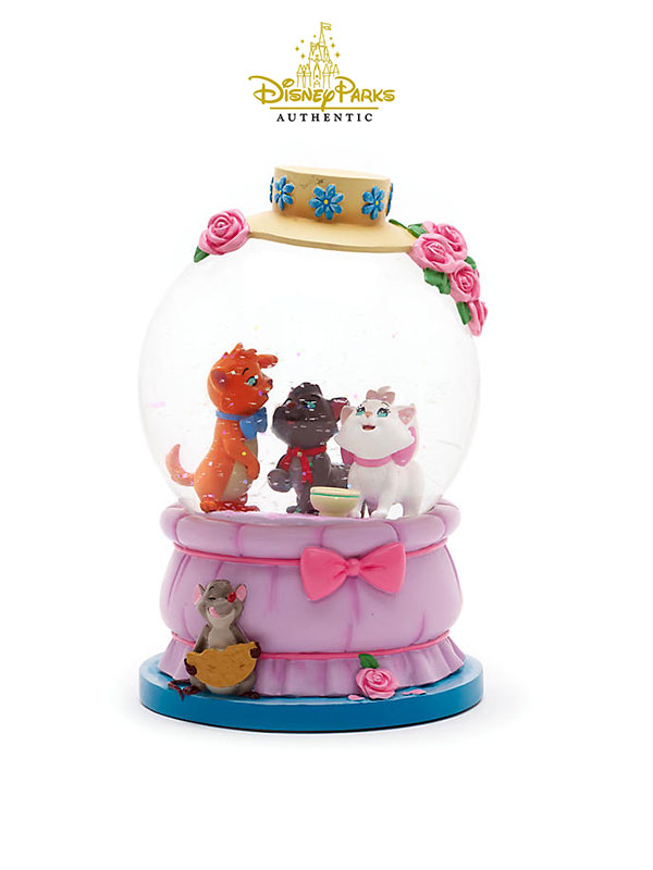 Disneyparks Authentic The Artistocats Snowglobe