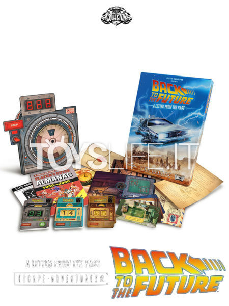 Doctor Collectors Back To The Future Escape Adventure Game A Letter from the Past English Version Boardgame