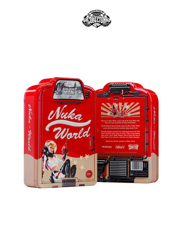 Doctor Collector Fallout Nuka-World Welcome Kit