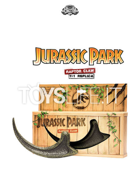Doctor Collector Jurassic Park Raptor Claw 1:1 Lifesize Replica