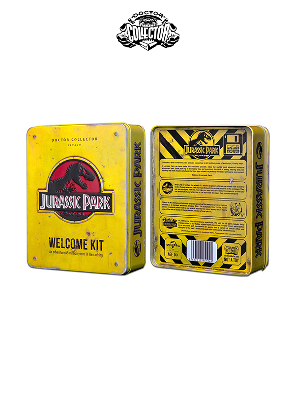 Doctor Collector Jurassic Park Welcome Kit Amber Limited Edition