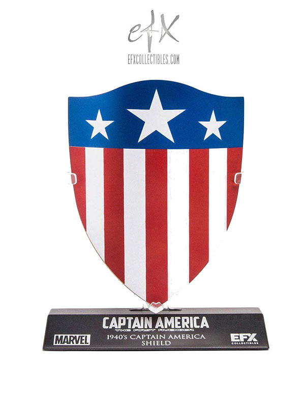 Efx Collectibles Marvel Captain America Classic 1940's Shield 1:6 Replica Exclusive