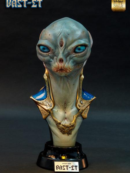 Elite Creature Bast-Et Ancient Alien 1:1 Bust