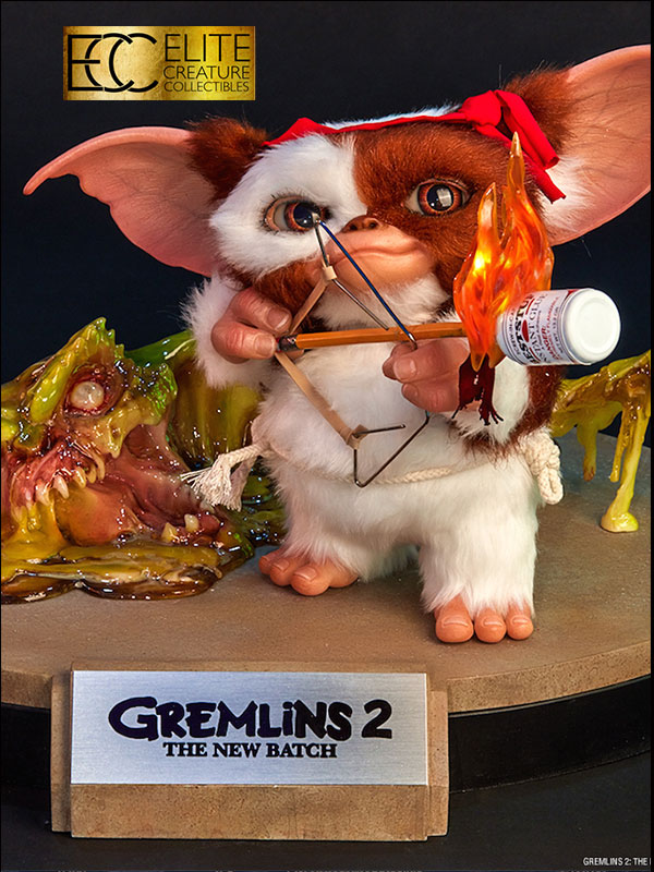 Elite Creature Collectibles Gremlins 2 The New Batch Gizmo 1:1 Maquette