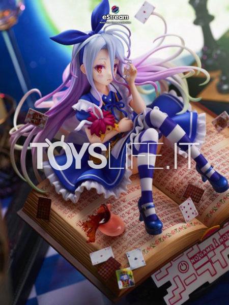 Estream No Game No Life Shiro Alice In Wonderland 1:7 Pvc Statue