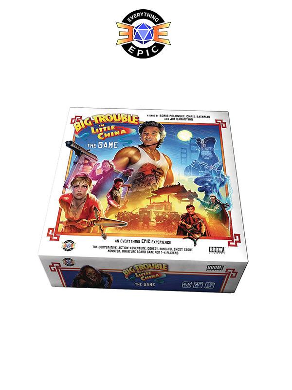 Big Trouble In Little China Board Game Gioco Da Tavolo English Version