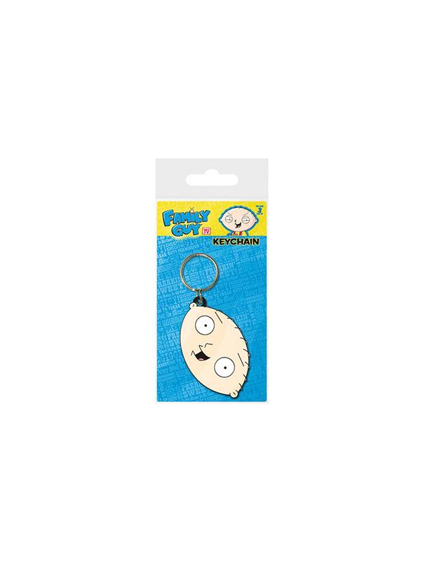 Family Guy I Griffin Stewie Rubber Keychain Portachiavi