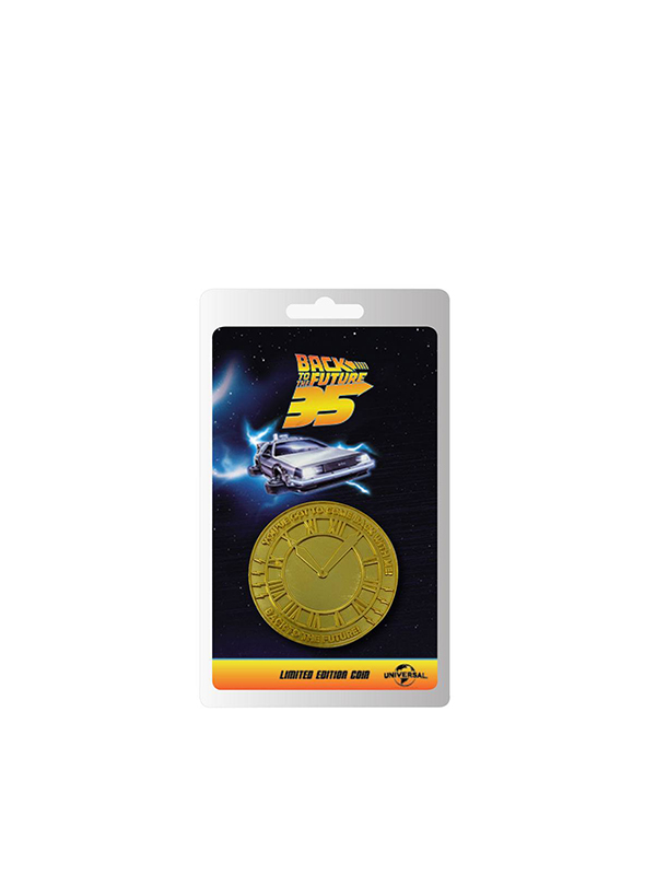 Fanattik Back to the Future Coin 35th Anniversary