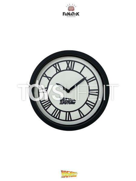 Fanattik Back To The Future Hill Valley Clock Tower Wall Clock