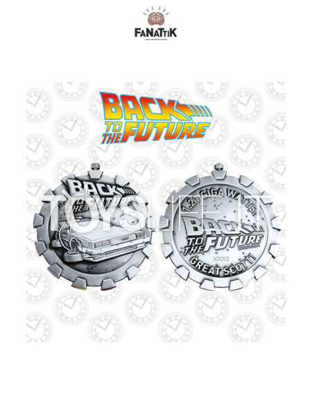Fanattik Back To The Future Medallion Logo Limited Edition