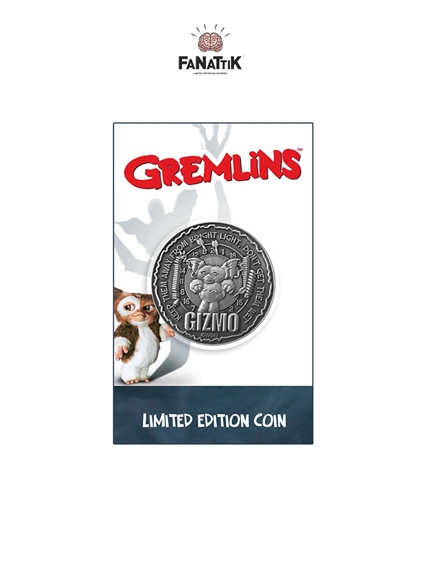 Fanattik Gremlins Collectable Coin Limited Edition