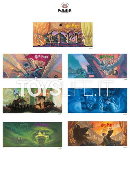 Fanattik Harry Potter Book Cover Artwork 42X30 Limited Art Print