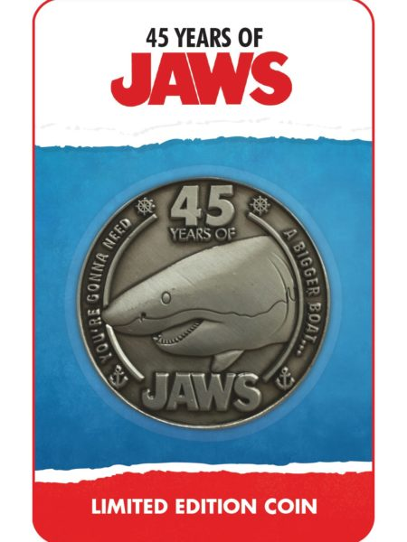 Fanattik Jaws 45th Anniversary Limited Edition Coin