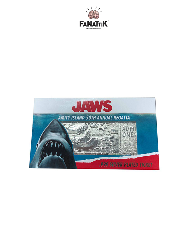Jaws Replica Regatta Ticket Limited Silver Plated Replica