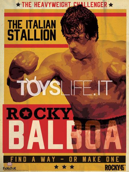 Fanattik Rocky 45th Anniversary Limited 42X30 Art Print
