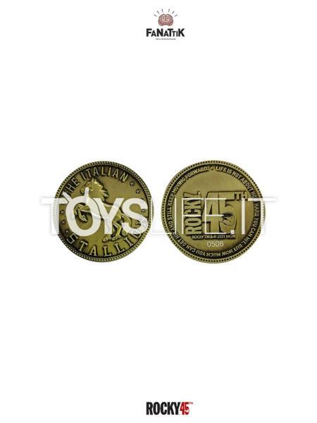 Fanattik Rocky 45th Anniversary The Italian Stallion Limited Coin