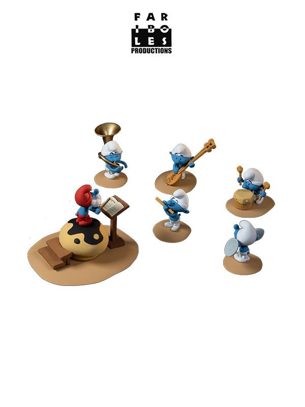 Fariboles The Smurfs The Orchestra Part 1