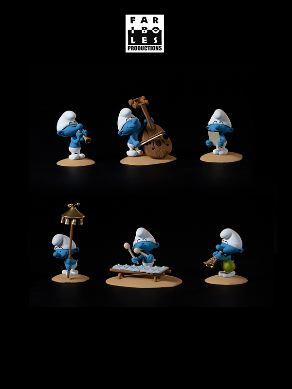 Fariboles The Smurfs The Orchestra Part 2