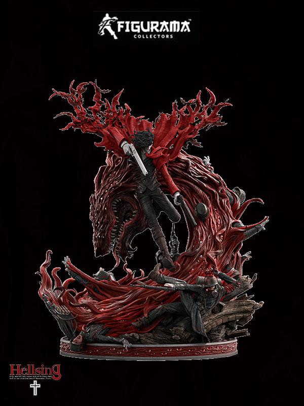 Figurama Hellsing Alucard 1:4 Elite Exclusive Statue